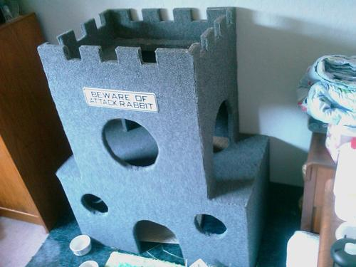 Bunny Castle Bunny Castle That Daddy Made